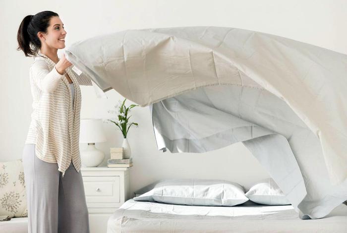 Нерегулярная смена постельного белья.