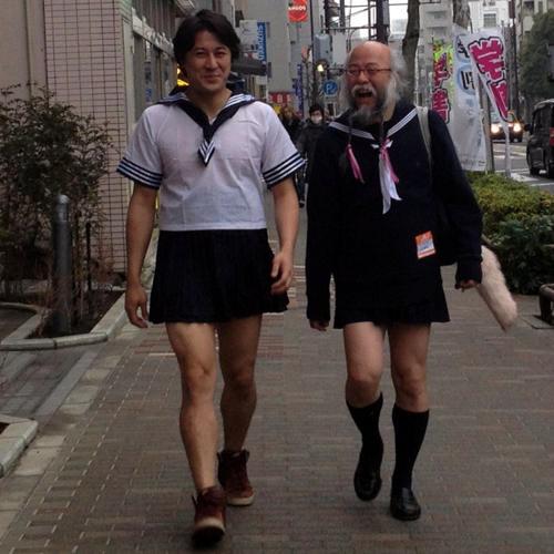 «Какие хорошенькие юбочки!»