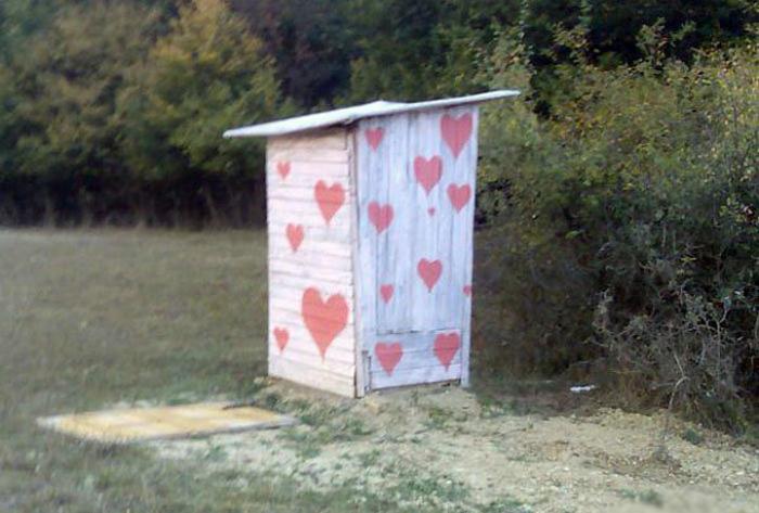 Ну просто кабинка романтики.