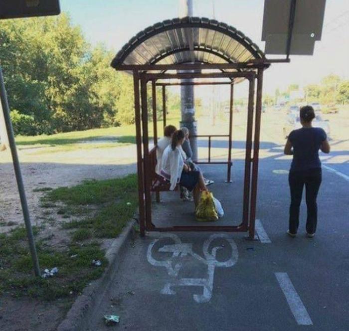 Гениальная велосипедная дорожка. | Фото: Korzo NEWS.