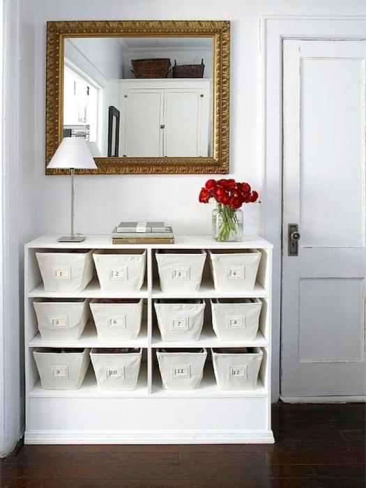 Текстильные контейнеры. | Фото: Roomble.com.