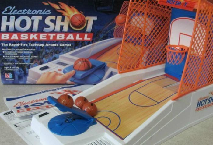 Потрясающий электронный баскетбол.