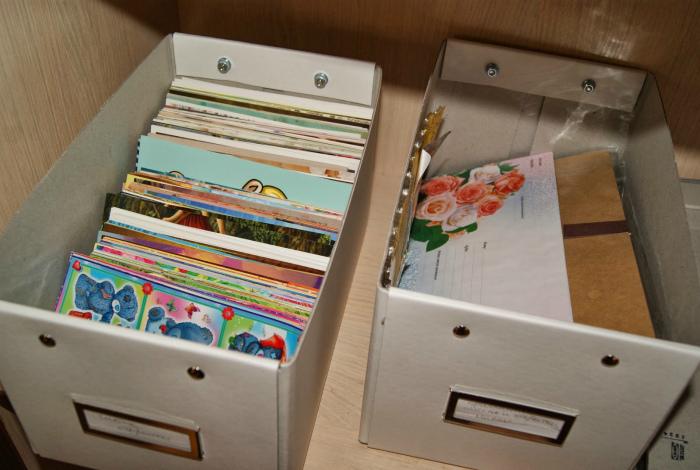 Коллекция открыток.