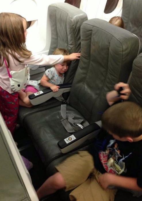 Лучшее место в самолете.