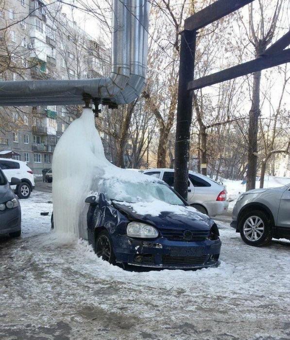 Традиционные зимние неприятности.