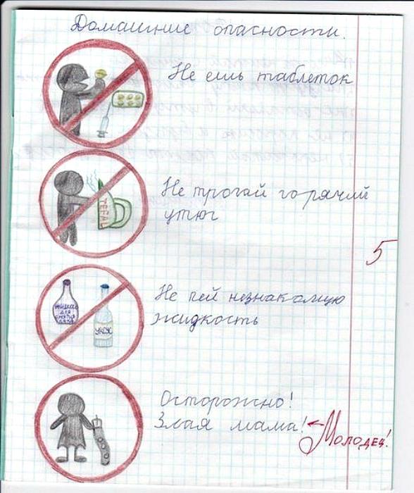 Опасности в жизни ребенка.