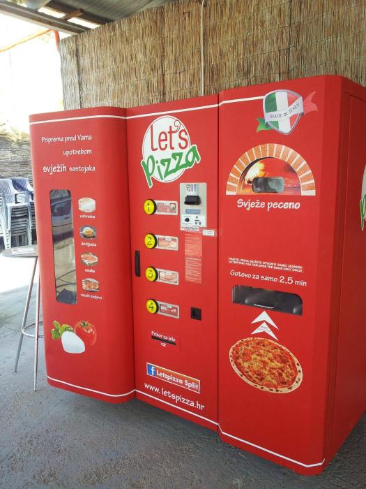 Автомат по производству пиццы. | Фото: Taringa!