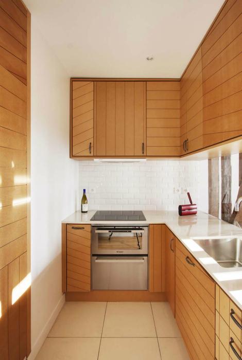 Уютная кухня в хрущевке.
