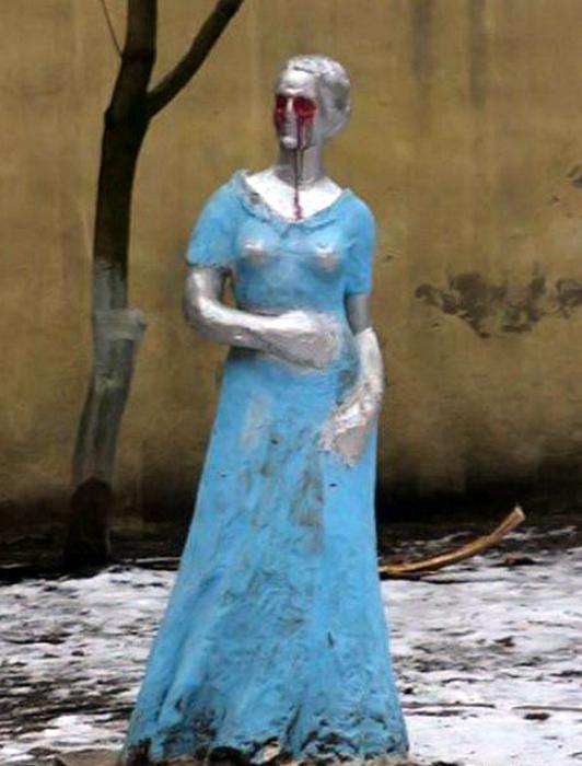 Дама из страшных снов.