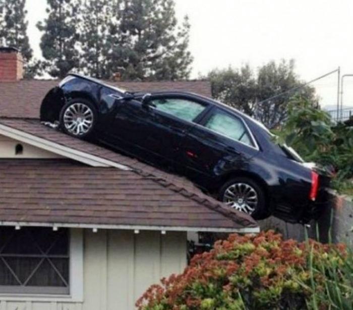 Когда ты бог парковки! | Фото: Genial.guru.