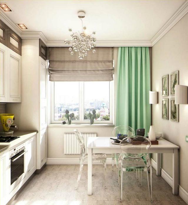 Элегантная кухня в классическом стиле.