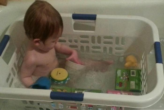 Альтернатива ванночке.
