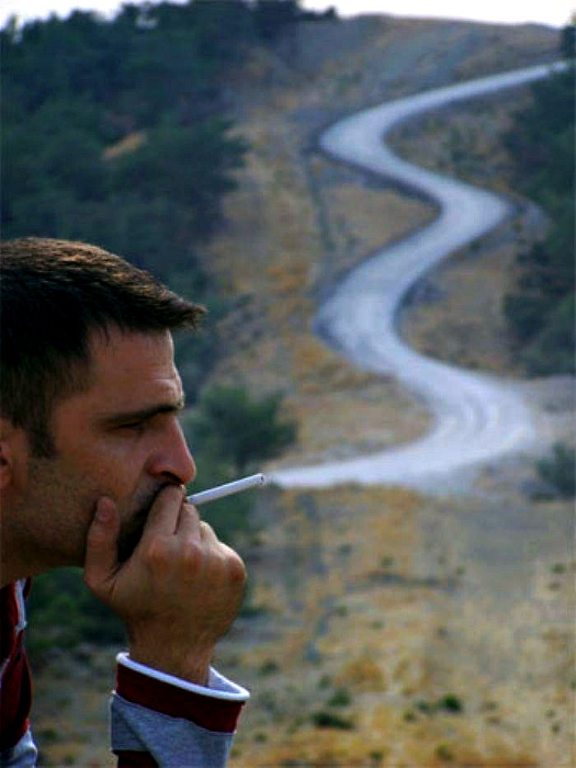 Заядлый курильщик. | Фото: Sabah.