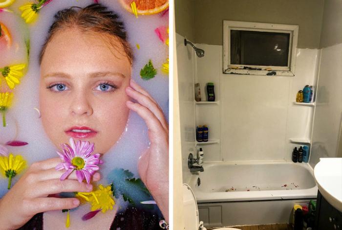 Снимок в ванне. | Фото: taobvio.com.