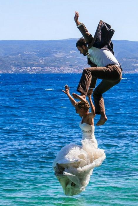 Отличная свадьба... Ну, во всяком случае, нескучная! | Фото: magSpace.ru.