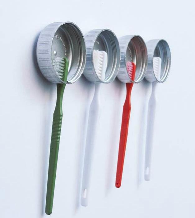 Подставка для щеток зубных своими руками