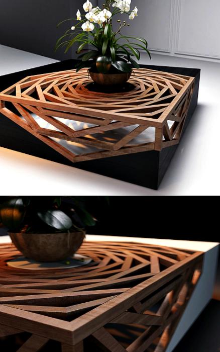 Кофейный стол от Вито Селма.