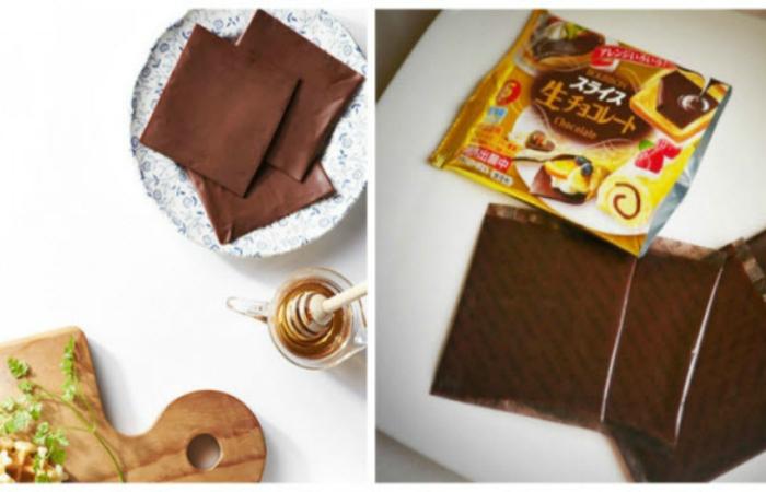 Шоколад в пластинках от японской компании Bourbon, из которого можно сделать множество интересных десертов.