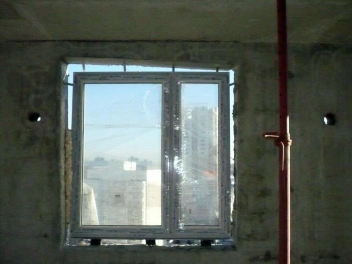 Маленькое окно.
