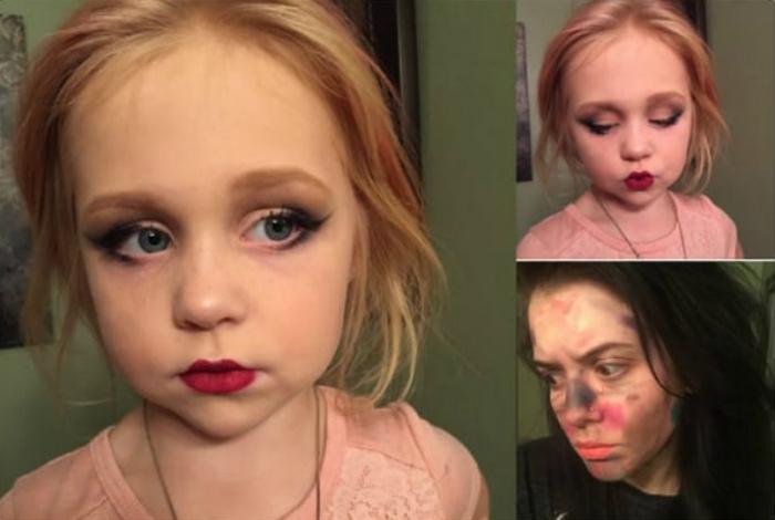Искусный макияж.