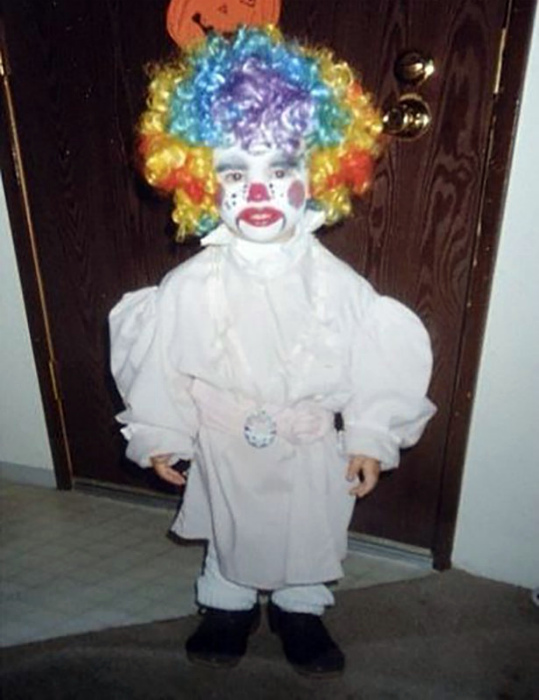 Зловещий клоун.