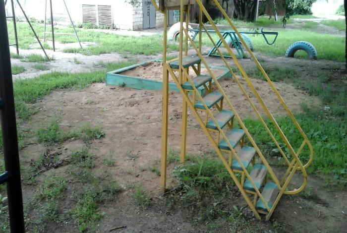 Аттракцион «Лестница в никуда».