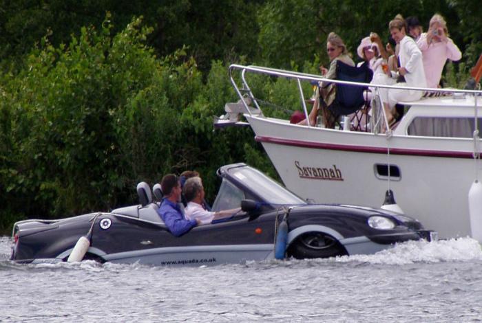 Оригинальная лодка.