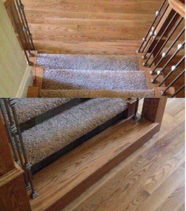 Лестница для внимательных.