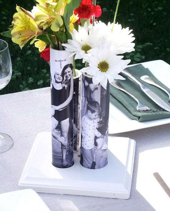 Чудесные цветочные вазы.
