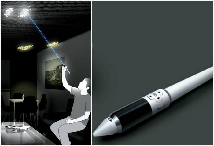 Интерактивный LED-потолок Draw The Lights.