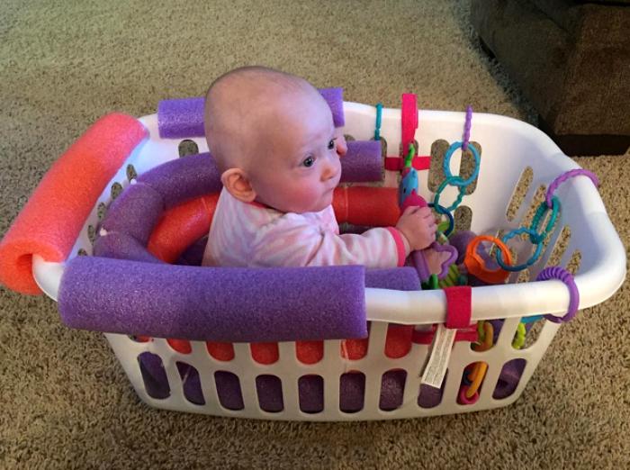 Самодельное детское кресло.