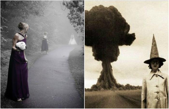 Реальные снимки, которые выглядят, как кадры из фильмов ужасов.