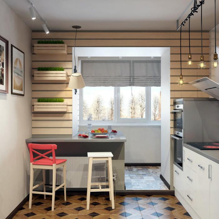 Кухня в стиле эко.