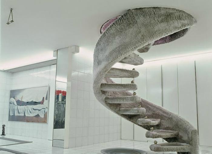 Мягкая лестница.