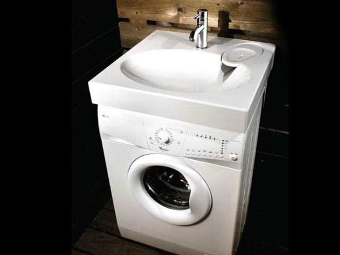 Эргономичная стиральная машина.
