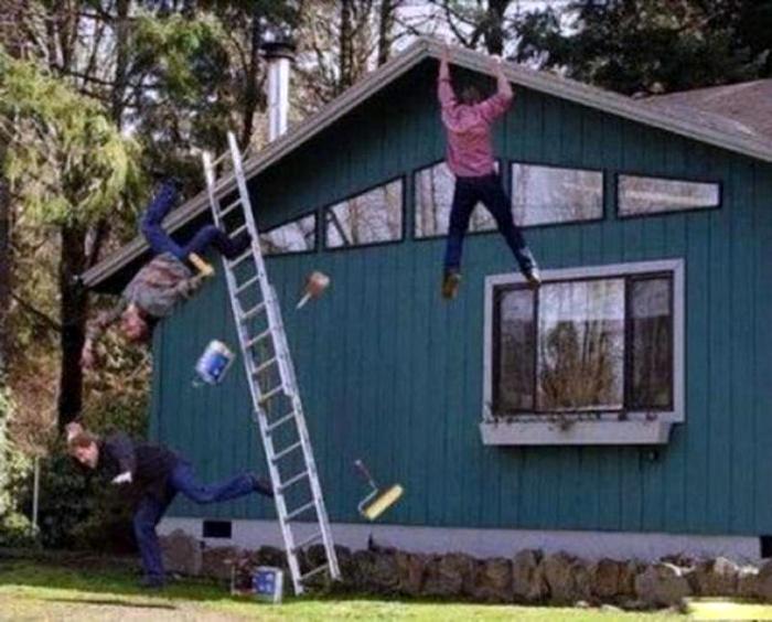 Летающие строители.