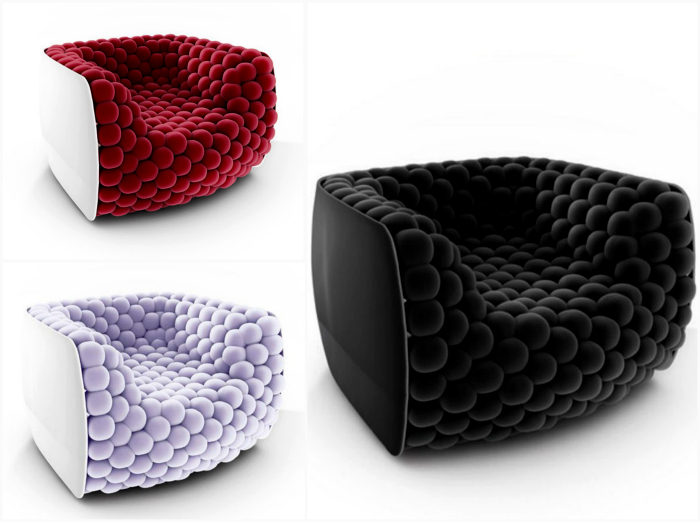 Кресло от дизайнера Карло Коломбо.
