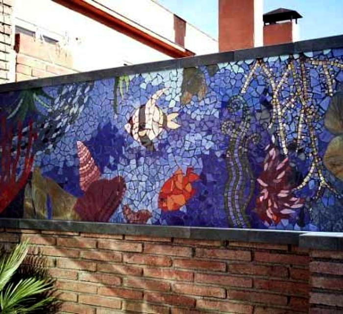 Керамическая мозаика.