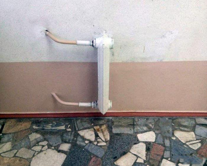 Минималистичный радиатор.