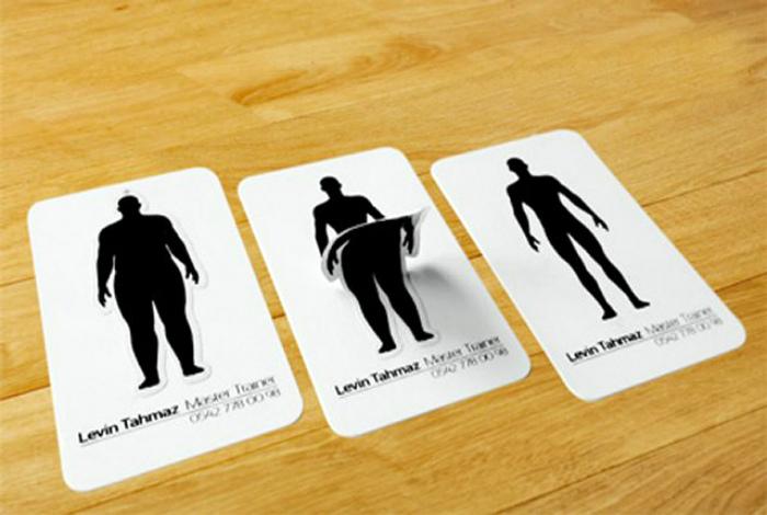 Визитная карточка диетолога.