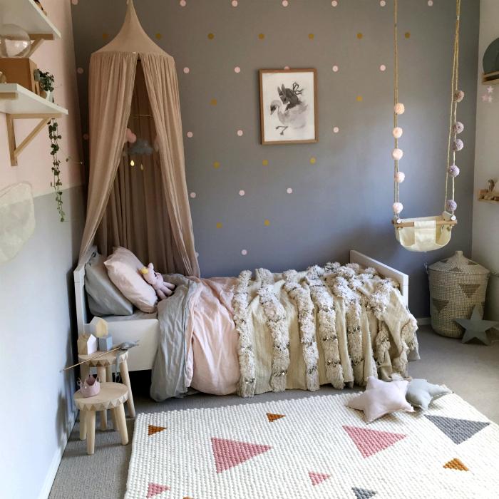 Сказочная спальня для девочки.