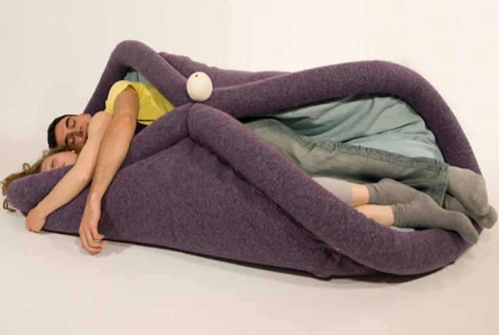 Гибкое спальное место.