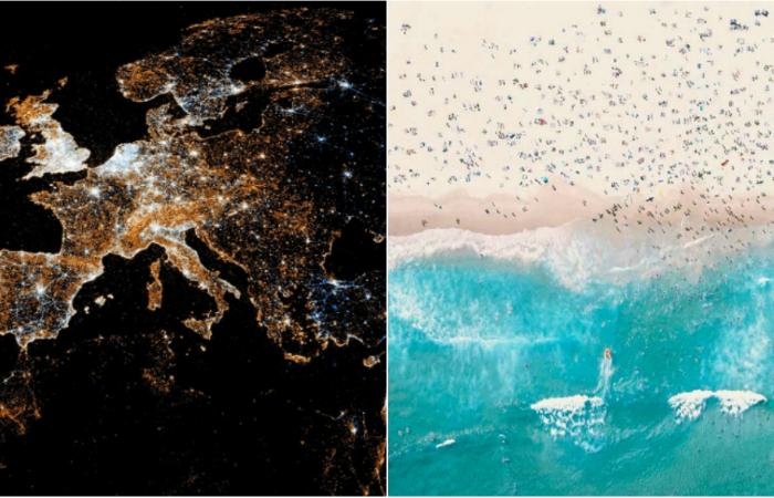 Потрясающие спутниковые снимки Земли, от которых захватывает дух.