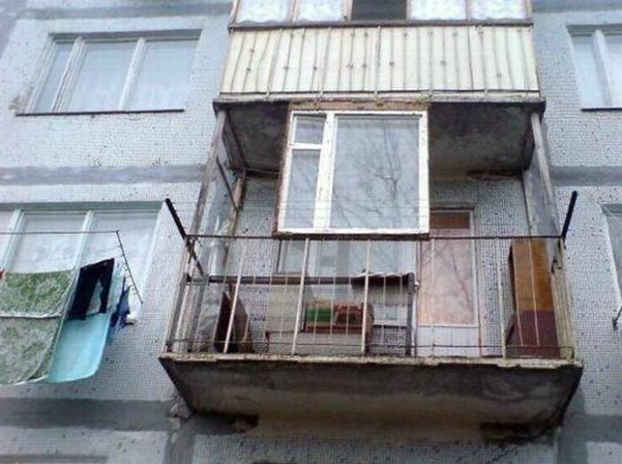 Скління балкона.