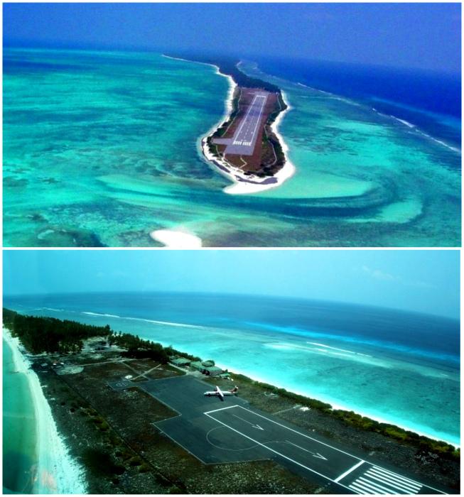 Аэропорт острова Агатти.