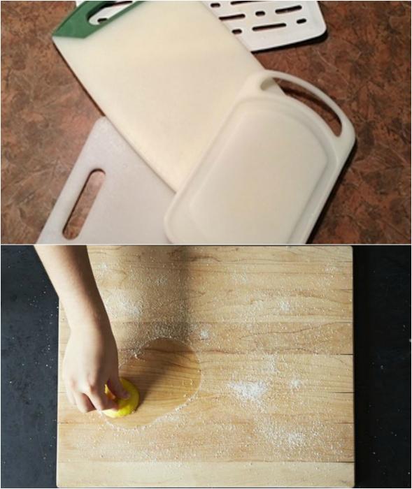 как очистить жирное пятно с джинсов