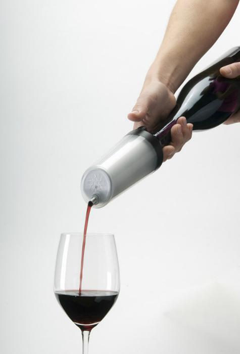 Крышка с дозатором для вина.
