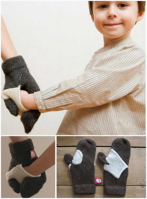 Перчатка для взрослого и ребенка.