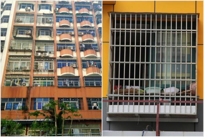 Решетки на окнах в Китае. | Фото: LiveJournal, Daostory.