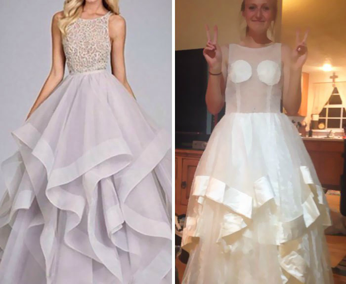 Платье с роскошным верхом.